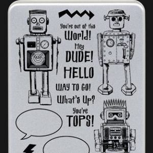 Darkroom Door - Stamps - Robot Collection - Robot Vol 1