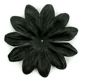 Green Tara - 7cm Petals - Black