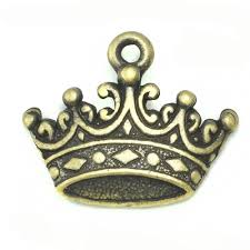 Bronze Charm - Crown
