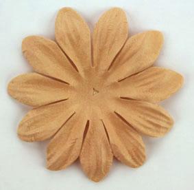 Green Tara - 7cm Petals - Light Brown