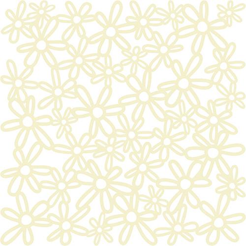 KI Memories - Glitter Lace - Bouquet cherish