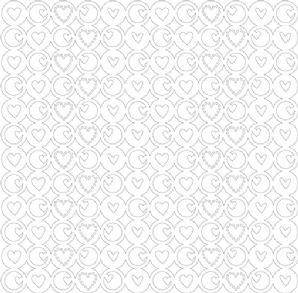 KI Memories - Glitter Lace - Heartbeat - Pure