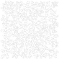 KI Memories - Glitter Lace - Bouquet pure