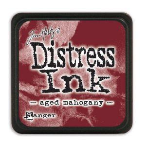 Tim Holtz Distress Ink - Mini Pad - Aged Mahogany