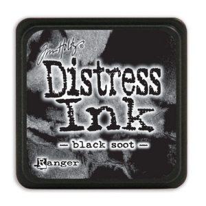 Tim Holtz Distress Ink - Mini Pad - Black Soot