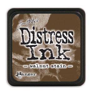 Tim Holtz Distress Ink - Mini Pad - Walnut Stain