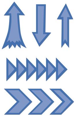 Kaisercraft Decorative Die - Arrows