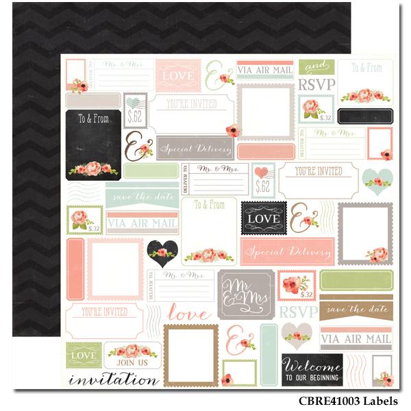 Rustic Elegance - Paper - Labels