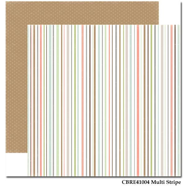 Rustic Elegance - Paper - Multi Strip