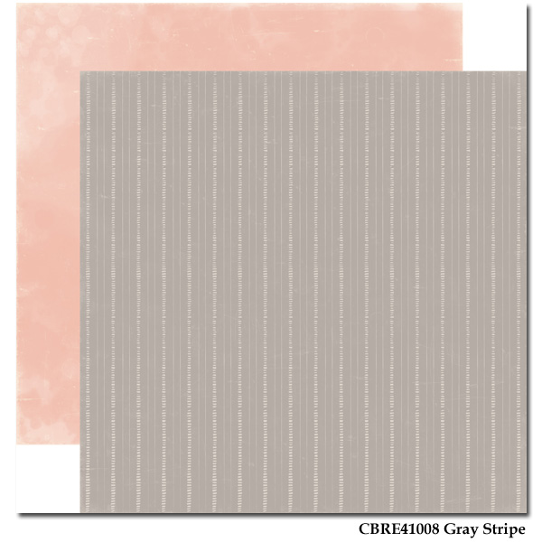 Rustic Elegance - Paper - Gray Stripe