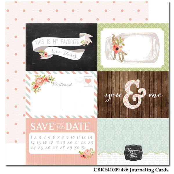 Rustic Elegance - Paper - Journaling Cards 4x6