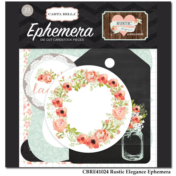 Rustic Elegance -  Ephemera