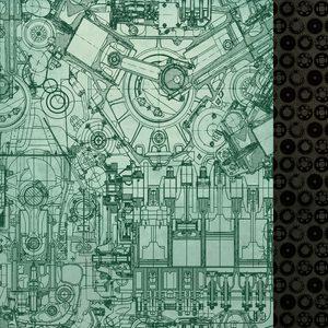 Kaisercraft - Time Machine -  Paper - Mechanism
