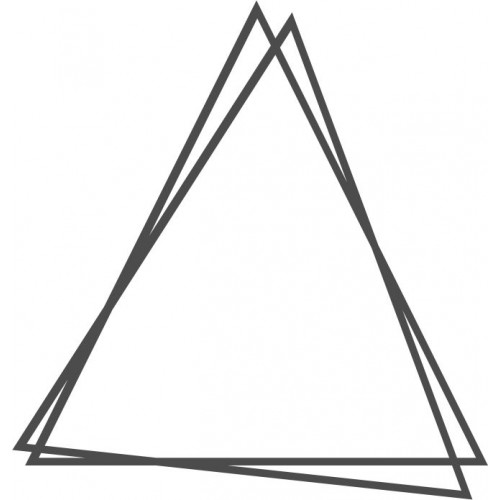 WOW - Messy Triangle - Large