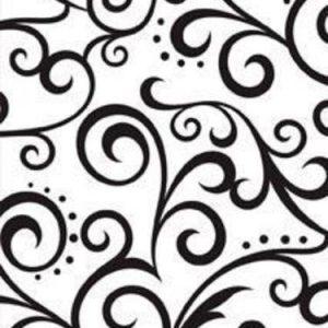 Darice Embossing Folder - Scroll Background