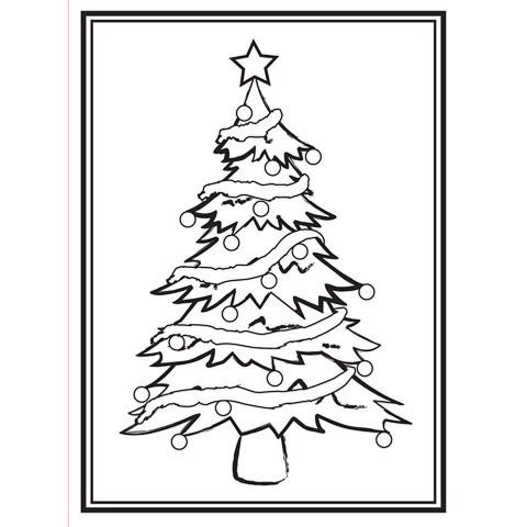 Darice Embossing Folder - Christmas Tree