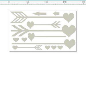 Memory Maze - Hearts and Arrows