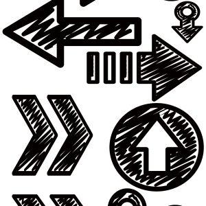 Memory Maze - Arrows grunge