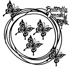 Memory Maze - Butterfly Dream Frame