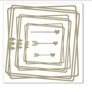 Memory Maze - Junky Frame with Arrows