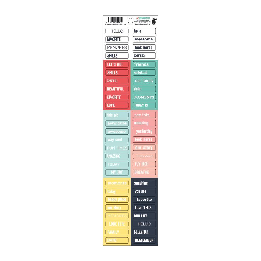 Fancy Pants - Happy Place - Diction Stickers