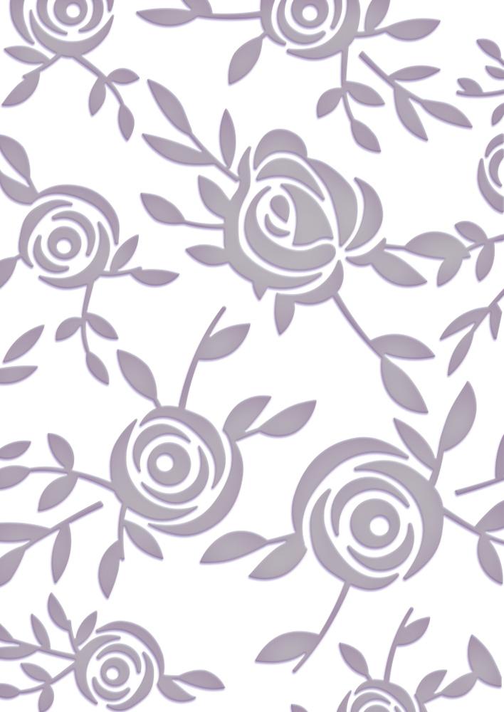 Couture Creations - Embossing Folder - Joe's Garden