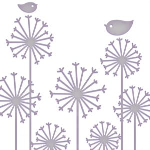 Couture Creations - Embossing Folder - Lg Persuasion Blooms