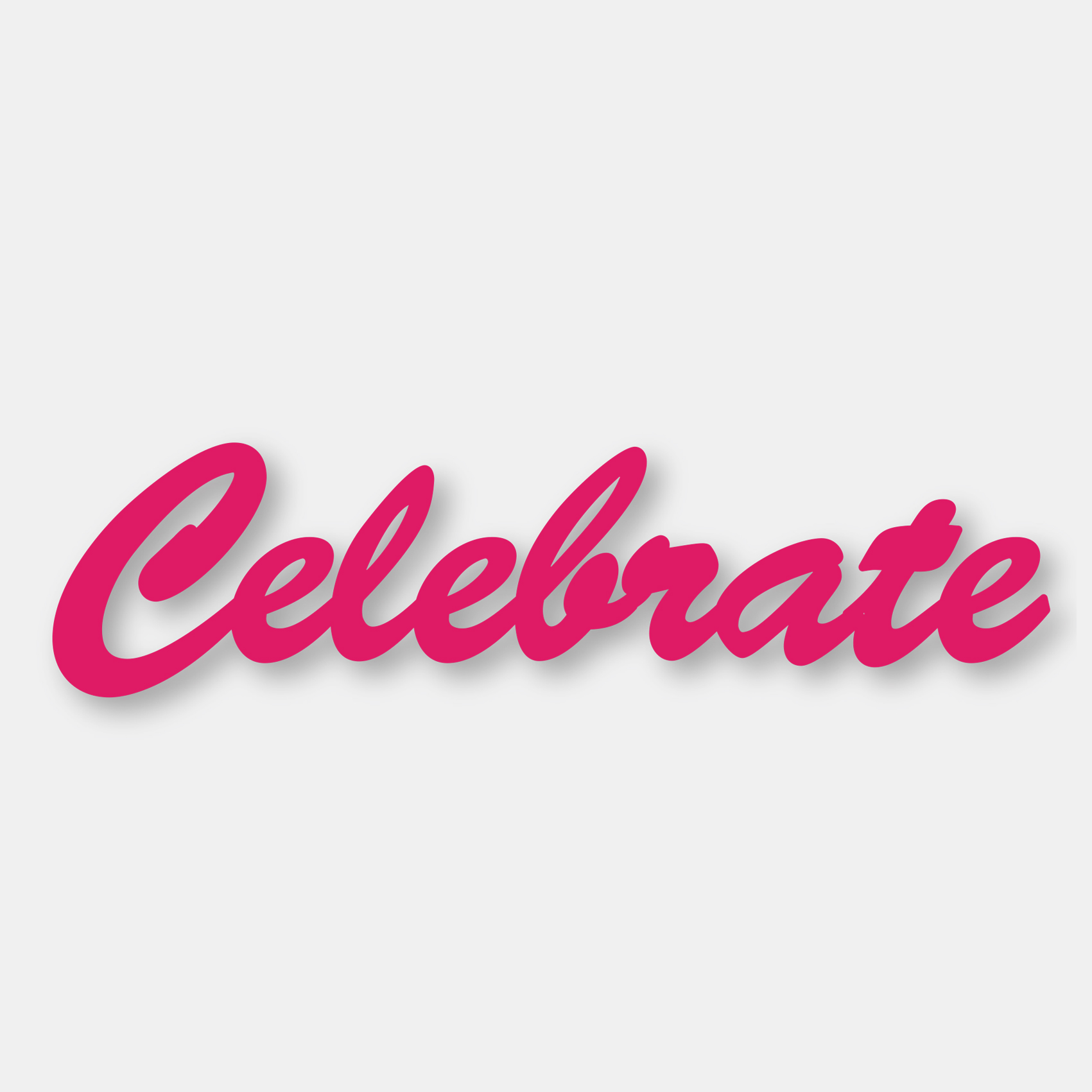 Couture Creations - Die - Celebrate