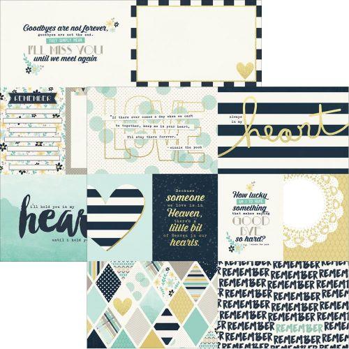Simple Stories - Heart - Paper - Elements 1