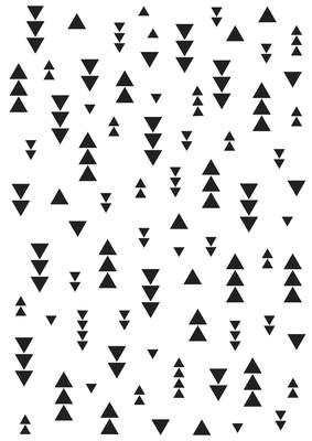 Kaisercraft Embossing Folders - Triangles