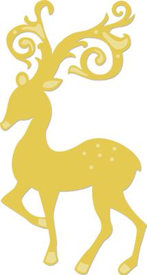 Kaisercraft Decorative Die - Reindeer