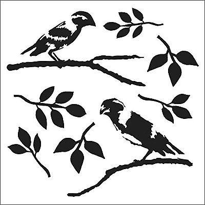 Crafters Workshop 12x12 - Dina's Love Birds
