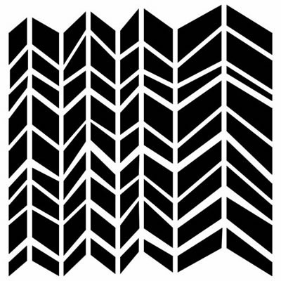 Crafters Workshop 12x12 - Chunky Chevron