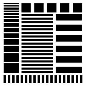 Crafters Workshop 12x12 - Stripes