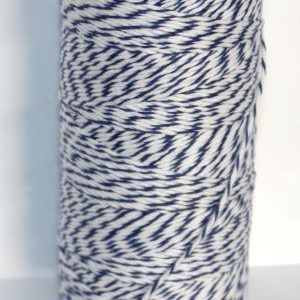 Bakers Twine -  Royal Blue and White