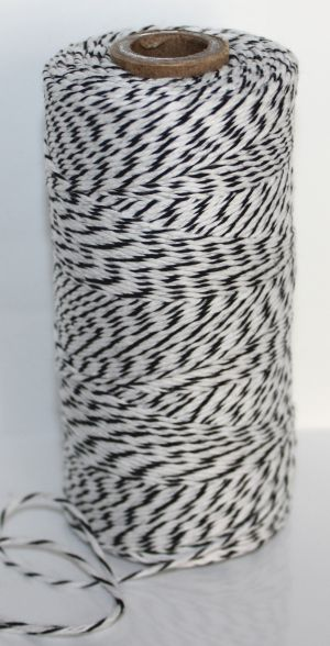 Bakers Twine - Black and White