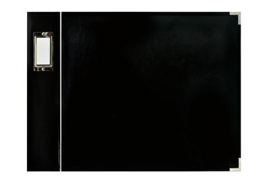 Kaisercraft Faux Leather 12x12 D-Ring Album - Black