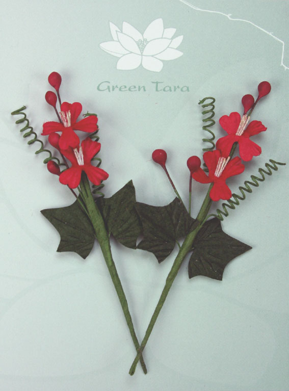 Christmas Bouquet 10cm - Red