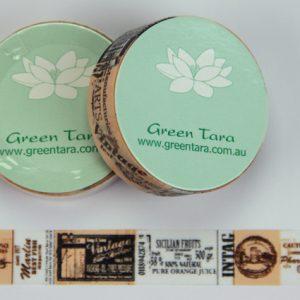 Green Tara - Washi Tape - Vintage Arts