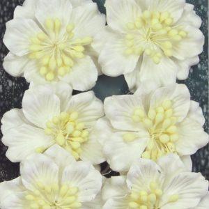 Green Tara - Azaleas - White
