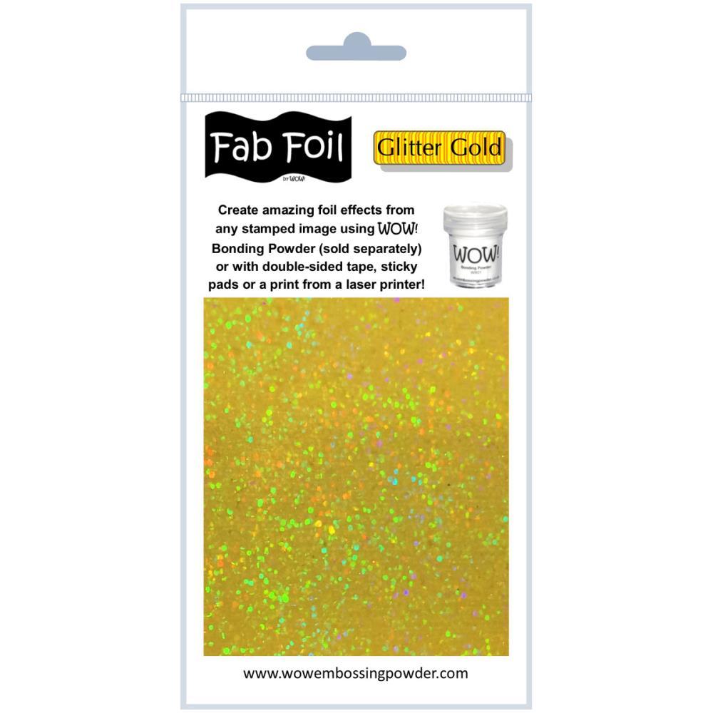 Fab Foil - Glitter Gold