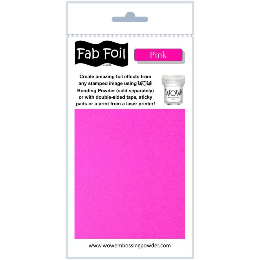 Fab Foil - Pink