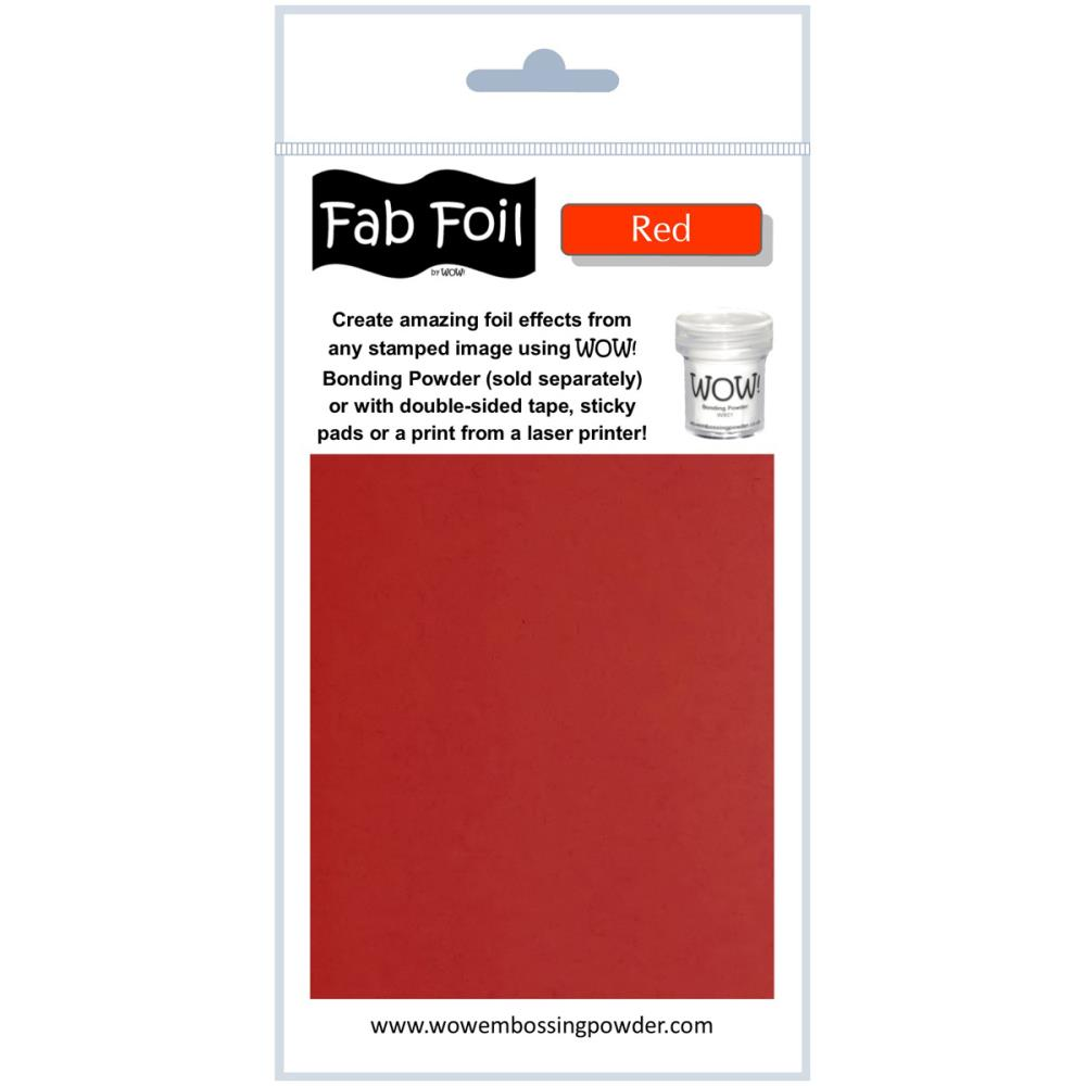 Fab Foil - Red