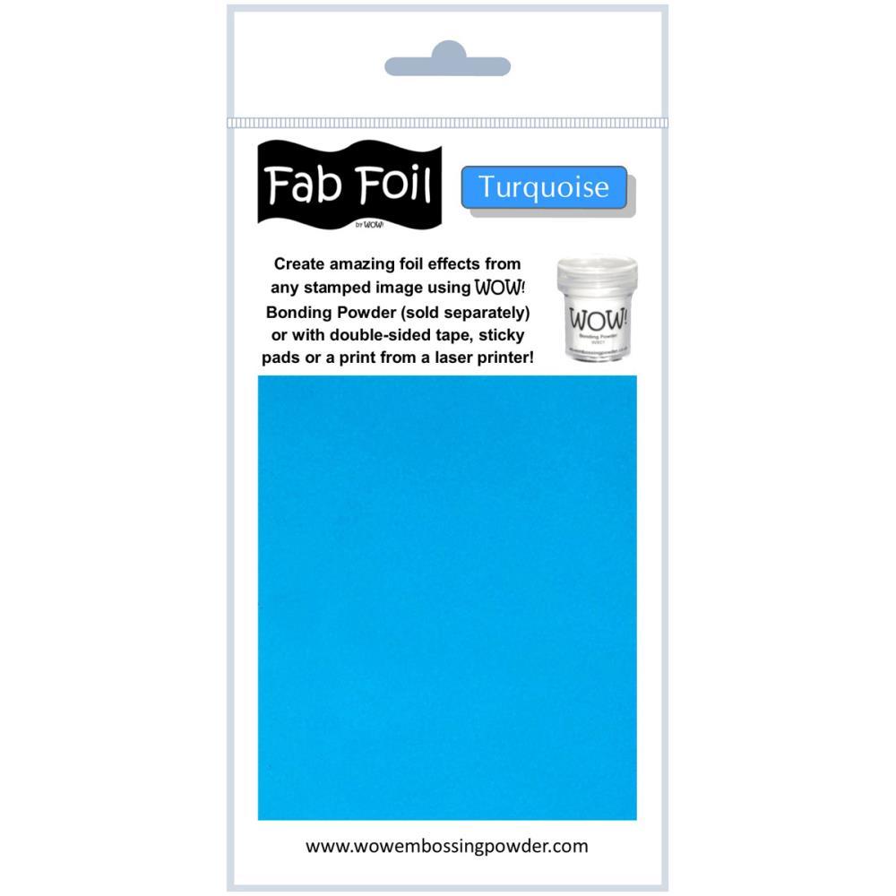 Fab Foil - Turquoise