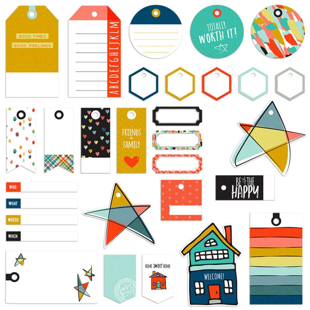 Fancy Pants - Family & Co - Tags and Lables