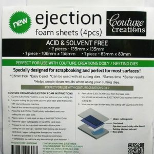 Couture Creations - Ejection Foam Sheets