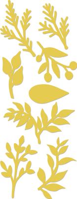 Kaisercraft Decorative Dies - Mini Foliage