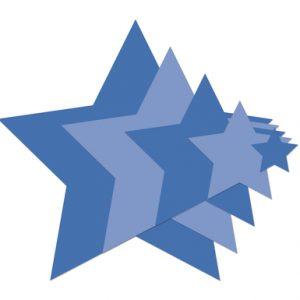 Kaisercraft Decorative Dies - Nesting Stars