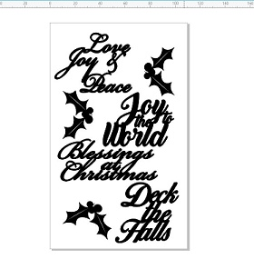 Memory Maze - Christmas Greetings & Holly