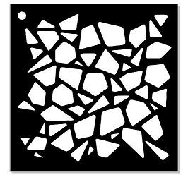 Memory Maze - Mini Stencil - Glass Bits